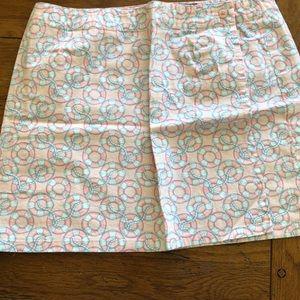 Girls vineyard vines size 10 wrap skirt